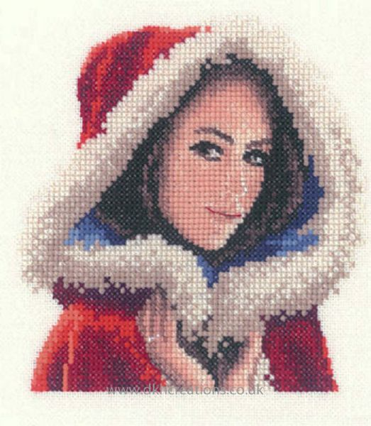 Scarlett Miniature Evenweave Cross Stitch Kit